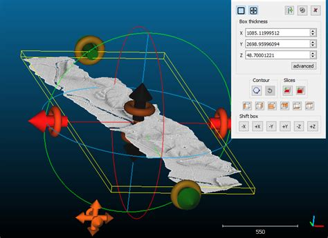 interactive cross sections dominoc925 interactive cross section in cloud compare