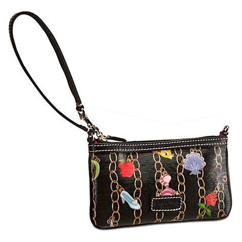 Your WDW Store   Disney Dooney & Bourke Bag   Charm Wristlet   Black