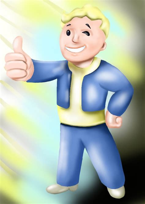 learn   draw vault boy  fallout fallout step
