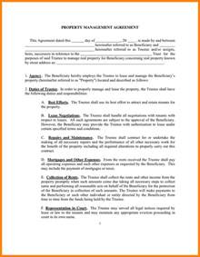 Management Agreement Template by 11 Property Management Agreement Card Authorization 2017