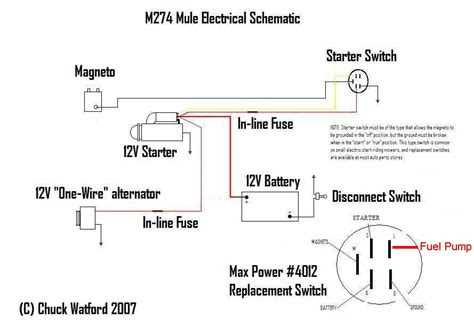 wiring diagram of electric fuel with switch 48