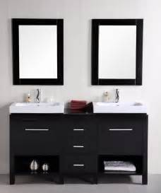 Sink Vanity With Open Shelf 60 Inch Sink Bathroom Vanity With Open Shelves