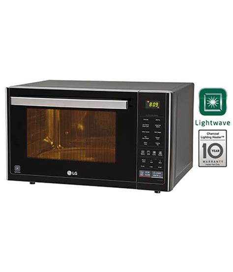 Lg Microwave Oven Convection lg 32 ltrs mj3296bft convection microwave oven black price in india buy lg 32 ltrs mj3296bft