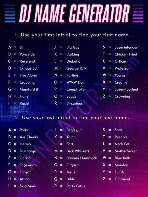 Name Generators Mind Space Apocalypse