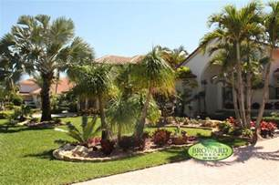 gallery for gt front yard landscaping ideas with palm trees