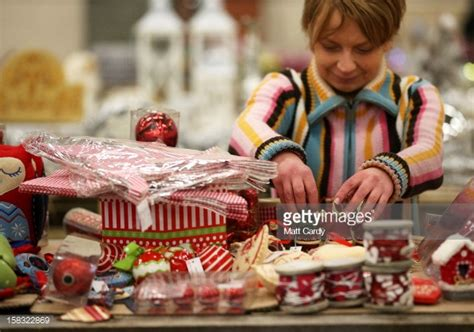 festive productions cwmbran tinsel and decoration producer festive productions photos and images getty images