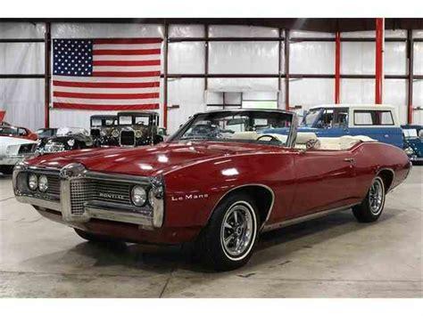Pontiac Lemans 1969 by 1967 To 1969 Pontiac Lemans For Sale On Classiccars