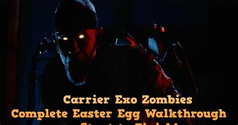 exo zombies easter egg zombified call of duty zombie map layouts secrets