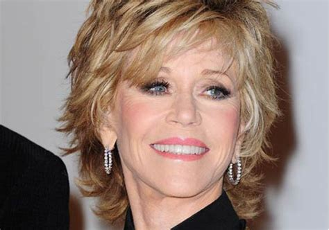 How To Cut Fonda Hairstyle | jane fonda luscious layers hairstyle short hairstyles