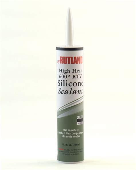 rutland high temperature rtv black silicone sealant 10 3