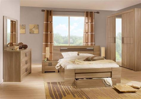 small bedroom design  oak wood bed  furniture sets