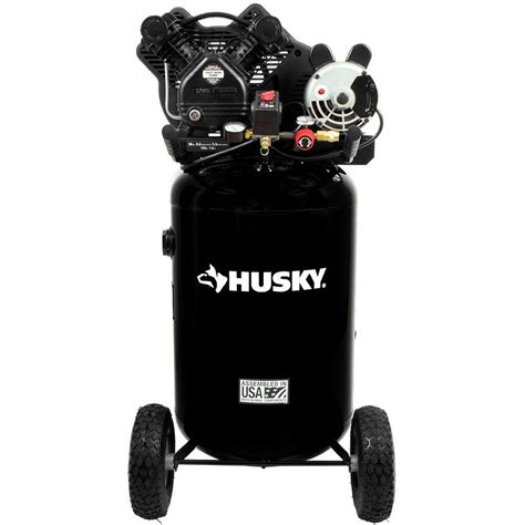 husky 30 gal 155 psi ultra portable electric air