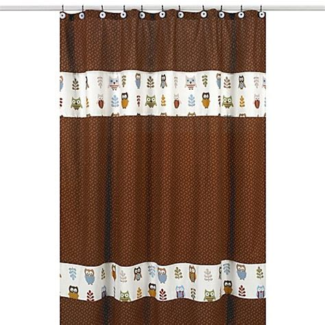 Owl Shower Curtains Buy Sweet Jojo Designs Owl Shower Curtain From Bed Bath Beyond