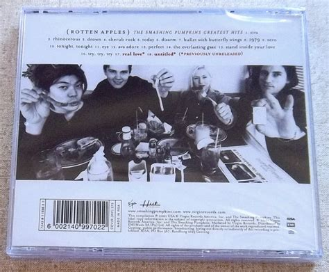 The Smashing Pumpkins Greatest Hits the smashing pumpkins rotten apples greatest hits south