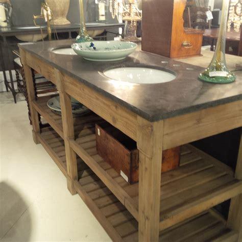 100 blue stone coffee table edison rustic lodge