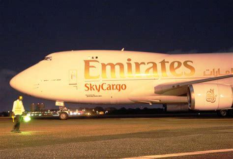 emirates skycargo opens link between uae and transport air cargo news aviation