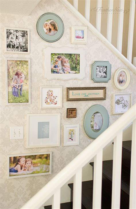 gallery wall ideas 20 stairway gallery wall ideas home design and interior