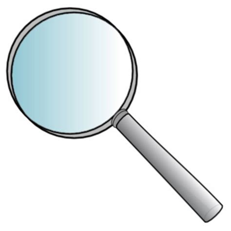 How To Make A Magnifying Glass Out Of Paper - magnifying glass photo cut out