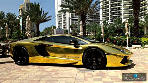 gold lamborghini aventador price the top five most uber expensive luxury supercars in the