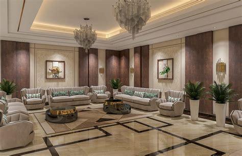 luxury contemporary villa interior design riyadh saudi