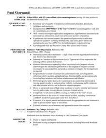 resume objective statement law enforcement 2 - Law Enforcement Resume Objective