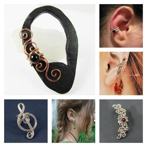 how to make ear cuffs jewelry the jewelry trend learn how to make ear cuffs