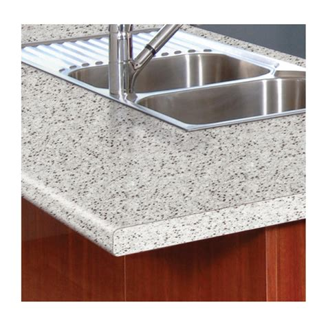 bench laminate kaboodle 2400x600x38mm riverstone benchtop bunnings