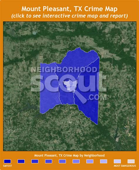 mount pleasant texas map mount pleasant tx crime rates and statistics neighborhoodscout
