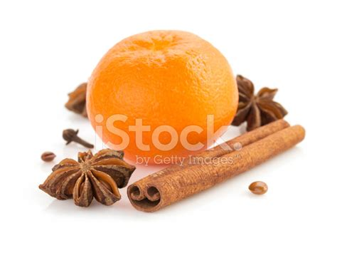 Mandarin Black And White mandarin and spices on white stock photos freeimages