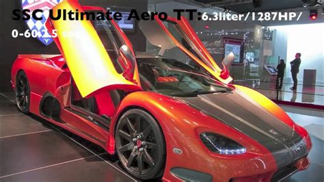 Most Powerful Car Engines by Top 10 Most Powerful Cars In The World Hd