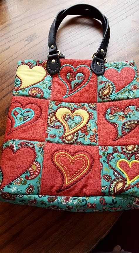 Patchwork Bag Designs - patchwork bag 4x4 5x5 in the hoop machine embroidery