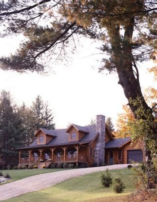 Small Log Cabin Kits Vermont Log Home In Vermont Real Log Homes Front