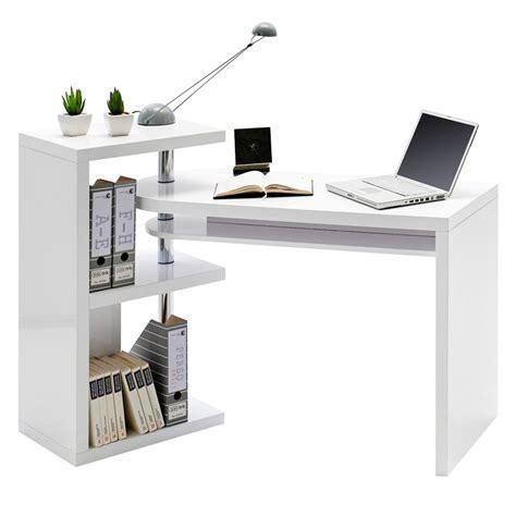 Schreibtisch Kombination by Eckschreibtisch Wei 223 Hochglanz G 252 Nstig Kaufen