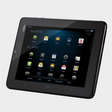 8 android tablet vizio 8 inch vtab1008 android tablet gadgetsin