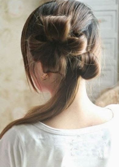 diy hairstyles for formal events diy double ponytail flower shape updo hairstyle
