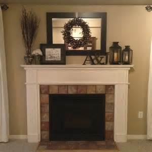 fireplace mantel decorating ideas home pin by alison swain on for the home pinterest