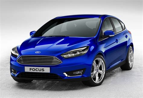ford focus facelifted 2014 ford focus gets new look grille