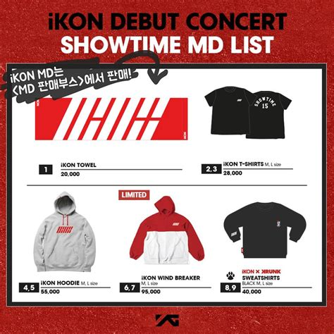 Backpack Ikon Krunk ikon debut concert showtime goods foreveryoungxxx