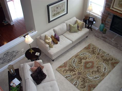 Rate Kitchen Cabinets by Area Rug On Top Of Carpet Living Room Traditional With
