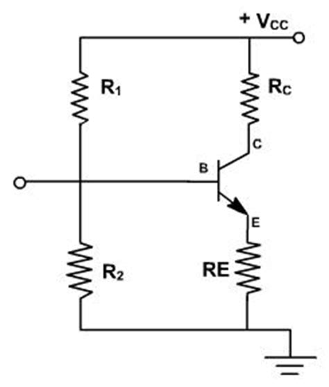 resistor divider biasing voltage divider biasing is commonly used why