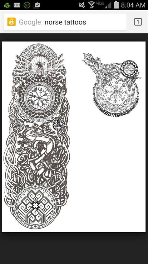 norse tattoos tattoo designs pinterest