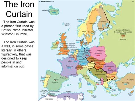 who first used the phrase iron curtain the cold war how cold was it ppt video online download