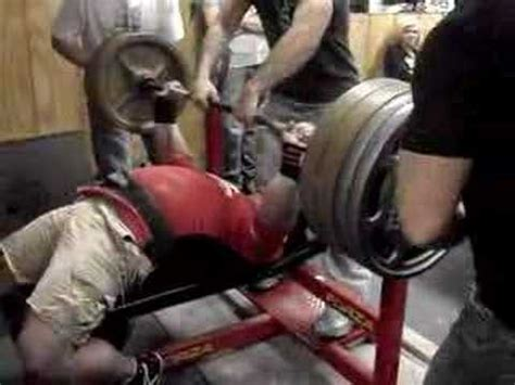 trent richardson bench craig richardson 625 bench press youtube