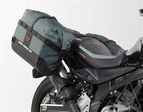 Suzuki V Strom Luggage Sw Motech Bags Connection Dakar Waterproof Soft Saddlebags