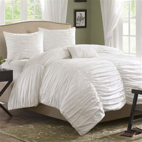 madison park delancey comforter set madison park delia 4 piece duvet cover set reviews wayfair