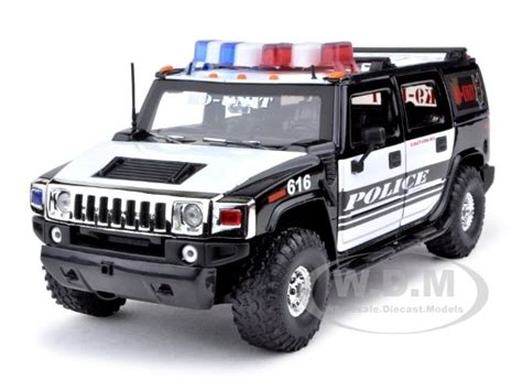 how cars engines work 2009 hummer h2 free book repair manuals hummer h2 police k9 unit high profile 1 24 diecast model car by jada 53549 k9 801310905135 ebay