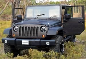 Mahindra Jeep Mahindra Thar Modified To Look Like A Jeep Wrangler