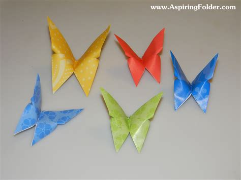Butterfly Origami For - origami butterfly aspiring folder