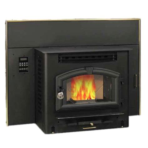 englander 2 000 sq ft pellet burning fireplace insert 25