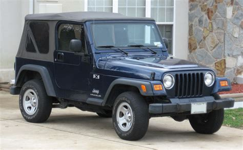 What Is A Tj Jeep File Tj Jeep Wrangler X Jpg Wikimedia Commons
